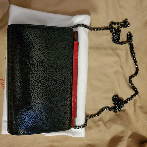 Christian Louboutin Handbags - Small black Louboutin purse